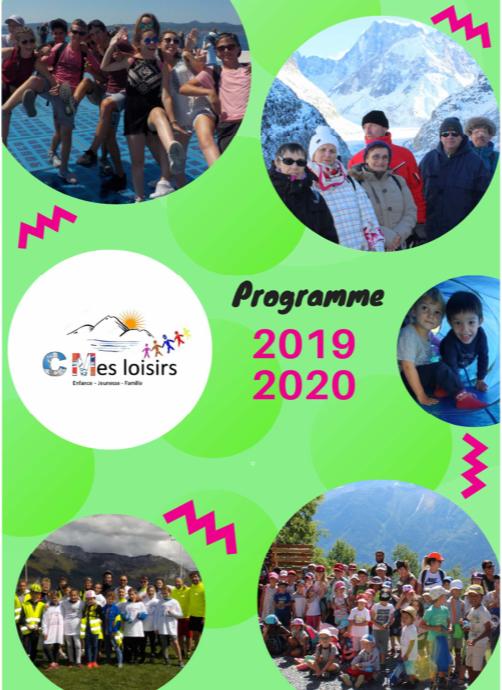 Brochure des activités 2019-2020